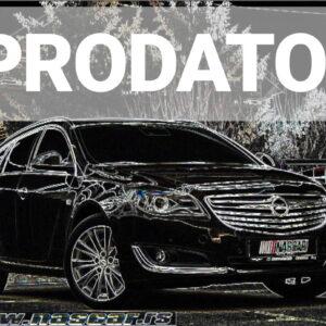 Opel Insignia 2.0Cdti Cosmo 4×4 Sport 2014. god.  PRODATO