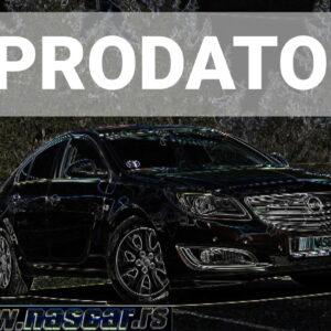 Opel Insignia 2.0Cdti Ecoflex Xenon Euro 5 2014.god.  PRODATO