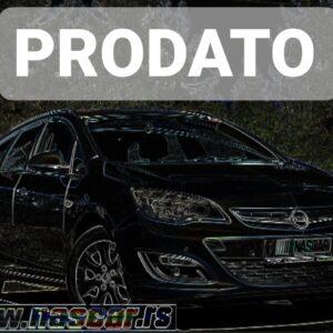 Opel Astra J 1.7Cdti BusinessNav 2014. god.  PRODATO