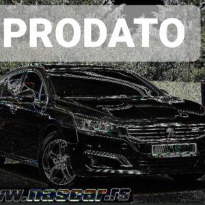 Peugeot 508 2.0Bluehdi Led Panorama 2015.god.